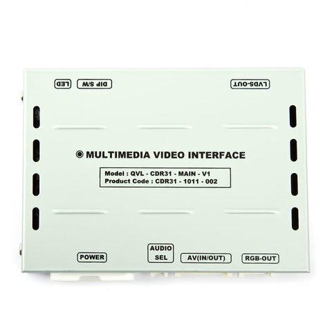 Видеоинтерфейс для Porsche 2010– с головным устройством CDR-3.1 Превью 1