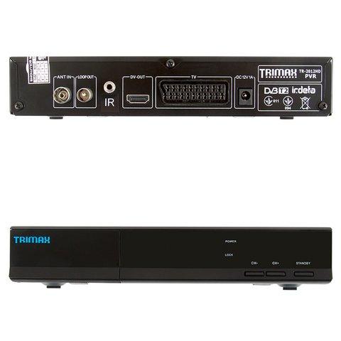 Автомобильный ТВ-тюнер DVB-T2 с функцией записи Trimax TR-2012HD PVR Превью 1