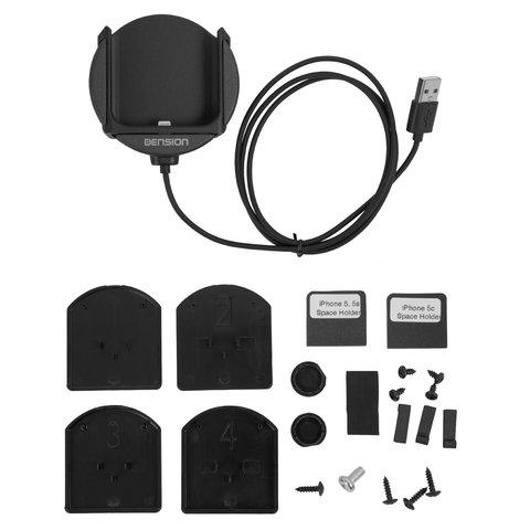 Sujetador para iPhone para adaptadores Dension Gateway 500S / Pro BT (IP5LCRP) Vista previa  5