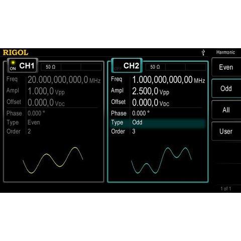 Универсальный генератор сигналов RIGOL DG4062 - Просмотр 7