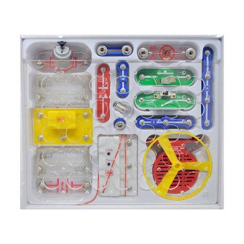 Электронный конструктор ЗНАТОК Первые шаги в электронике, Набор C, 34 схемы Превью 3
