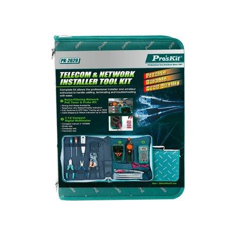 Telecom & Network Tool Kit Pro'sKit PK-2629 Preview 1