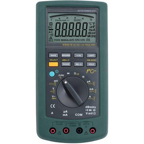 Digital Multimeter MASTECH MS8218 Preview 4